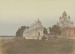 Hindoo temples on the Hooghly [Calcutta]